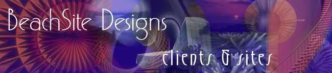 Clients and Sites - Beachsite Designs - Websites that Work